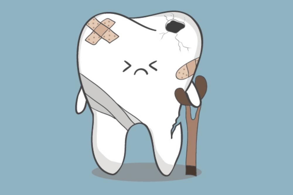 Открытка зубик не боли, поздравление внученьку днем